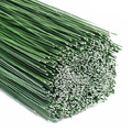 Steckdraht grün lackiert / beidseitig stumpf