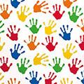 Geschenkpapier Hands