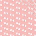 Geschenkpapier Babyabdrücke rosa