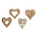 Holzstreuer Herz Ravenna