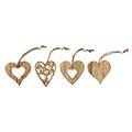 Holzhänger Herz Ravenna