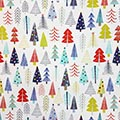 Seidenpapier Funky Trees