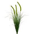 Kunstblume Grasbusch mit Dolden