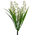 Kunstblume/Seidenblume Maiglöckchen-Pick mit Gras