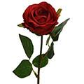 Kunstblume/Seidenblume Rose halboffen