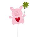 Filzstecker Glücksschweinchen