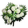 Kunstblumen/Seidenblumen-Strauß Rose