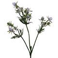 Kunstblume/Seidenblume Distel mit 3 Zweigen