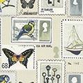 Geschenkpapier Poste