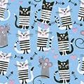 Geschenkpapier Miau