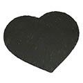 Schieferplatte in Herzform