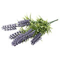 Kunstblume/Seidenblume Lavendelbusch x7