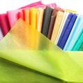 Blumenseidenpapier Uni auf Rollen