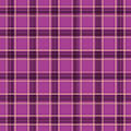 Serviette Checkered Rhodamine