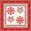 Serviette Winter Embroidery
