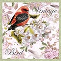 Serviette Vintage Bird