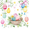 Serviette Easter Feelings